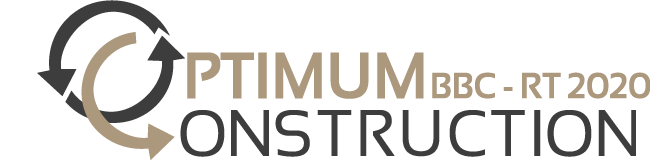 logo Optimum construction 672 x 160